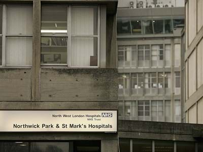 Northwick Park Hospital editorial only