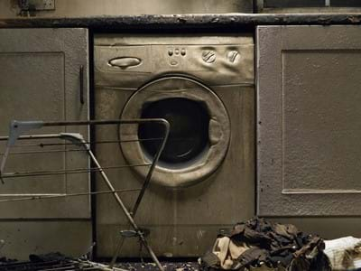 Burnt Washing Machine